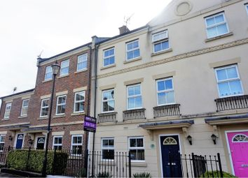 Thumbnail 3 bed town house for sale in Dowland Close, Swindon