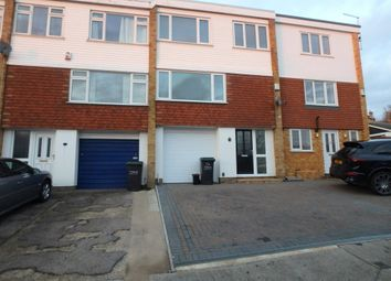 Thumbnail 4 bedroom town house for sale in Elmfield Close, Gravesend