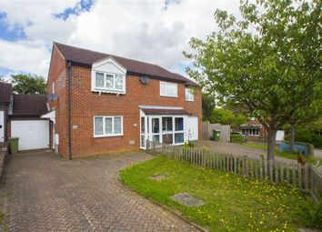Thumbnail 2 bedroom semi-detached house to rent in Vyne Crescent, Great Holm, Milton Keynes