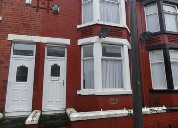 Thumbnail 3 bed terraced house to rent in Grasville Road, Tranmere, Birkenhead