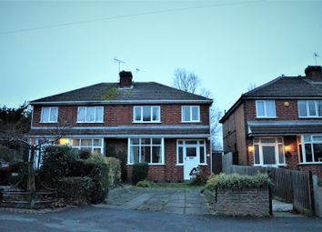 Thumbnail 3 bed semi-detached house for sale in Bradgate Road, Anstey, Leicester