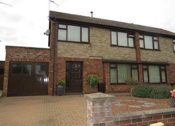 Thumbnail 3 bed semi-detached house for sale in Foxs Lane, West Lynn, King's Lynn