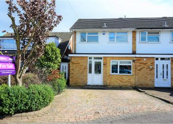 Thumbnail 3 bed end terrace house for sale in Birch Close, Romford