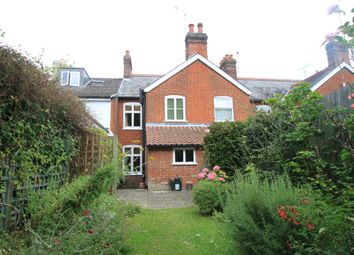 Thumbnail 2 bedroom terraced house for sale in Queens Road, Bury St. Edmunds