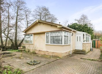 Thumbnail 2 bed mobile/park home for sale in Riverside Park, Upavon, Pewsey