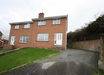 Thumbnail 3 bed semi-detached house for sale in Grove Crescent, Ballynahinch, Down