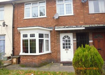 Thumbnail 3 bed terraced house to rent in Belchers Lane, Birmingham