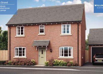 Thumbnail 3 bedroom detached house for sale in Heather Lane, Ravenstone, Coalville