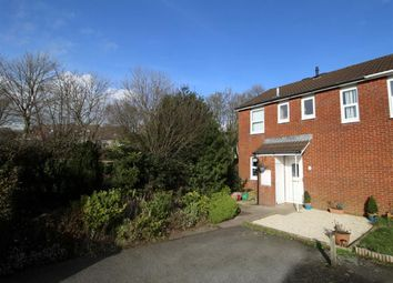 Thumbnail 3 bedroom end terrace house for sale in Penrith Close, Plymouth