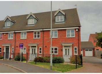 Thumbnail 4 bed town house for sale in Old Church Road, Leicester
