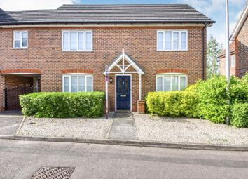 Thumbnail 4 bed link-detached house for sale in Claremont Crescent, Newbury