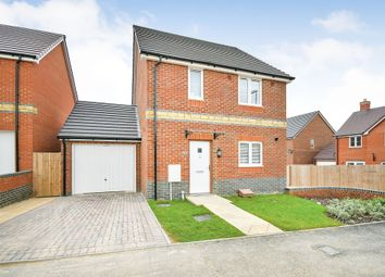 Thumbnail 3 bed detached house for sale in Jupiter Close, Blunsdon, Swindon