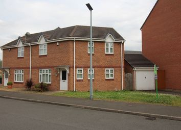 Thumbnail 3 bed semi-detached house for sale in Thunderbolt Way, Tipton