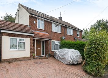 Thumbnail 4 bed semi-detached house for sale in Longcroft Road, Maple Cross, Rickmansworth, Hertfordshire