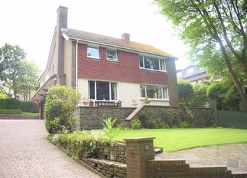Thumbnail 4 bedroom detached house for sale in Brynfield Road, Langland, Swansea