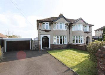 Thumbnail 3 bed semi-detached house for sale in Thackeray Road, Clevedon