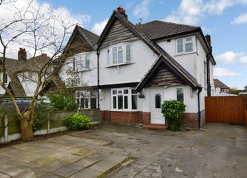 Thumbnail 4 bed semi-detached house for sale in Long Lane, Upton, Chester