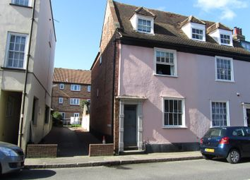 Thumbnail 3 bedroom end terrace house to rent in West Street, Harwich, .