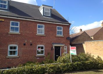 Thumbnail 3 bed semi-detached house to rent in Kelso Close, Corby