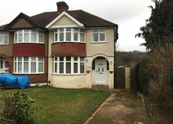 Thumbnail 3 bed semi-detached house to rent in Canterbury Way, Croxley Green, Rickmansworth