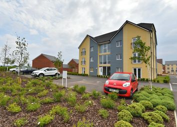 Thumbnail 2 bed flat for sale in Shareford Way, Cranbrook, Exeter