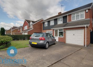Thumbnail 4 bed detached house for sale in Rufford Avenue, Bramcote, Nottingham