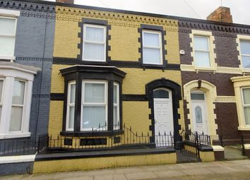 Thumbnail 3 bed terraced house to rent in Gertrude Road, Anfield, Liverpool