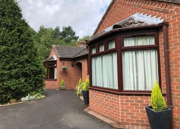 Thumbnail 3 bed detached bungalow for sale in Chestnut Way, Swanwick, Alfreton, Derbyshire