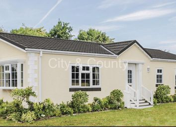 Thumbnail 2 bedroom mobile/park home for sale in Short Drove, Downham Market