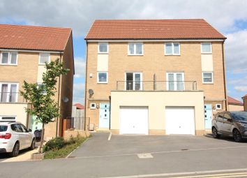 Thumbnail 4 bed semi-detached house for sale in Newlands Lane, Lyde Green, Bristol