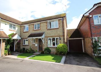 Thumbnail 3 bed semi-detached house for sale in Old Barn Close, Kemsing