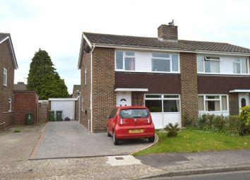 Thumbnail 3 bed semi-detached house for sale in Westgate, Stubbington, Fareham