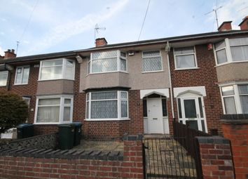 Thumbnail 3 bed terraced house for sale in Glencoe Road, Coventry