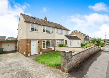 Thumbnail 4 bed semi-detached house for sale in Welsford Avenue, Wells