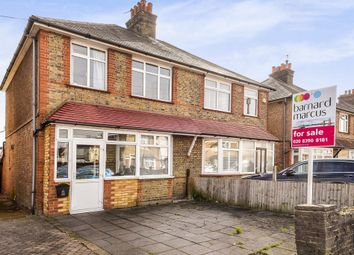 Thumbnail 3 bed semi-detached house for sale in Swallow Park, Hook Rise North, Tolworth, Surbiton