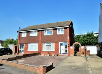 Thumbnail 3 bed semi-detached house for sale in Willoughby Avenue, Croydon