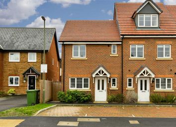 Thumbnail 3 bed end terrace house for sale in Winter Close, Epsom, Surrey