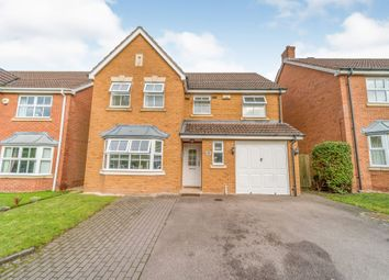 Thumbnail 4 bed detached house for sale in Brooklands Way, Marston Green, Birmingham