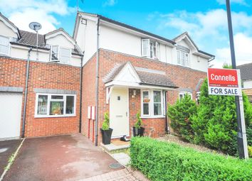 Thumbnail 3 bedroom link-detached house for sale in Syon Close, Swindon