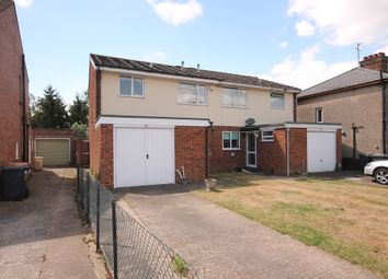 Thumbnail 3 bed semi-detached house for sale in Barkers Lane, Goldington, Bedford