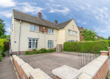 Thumbnail 3 bed semi-detached house for sale in Little John Road, Leicester