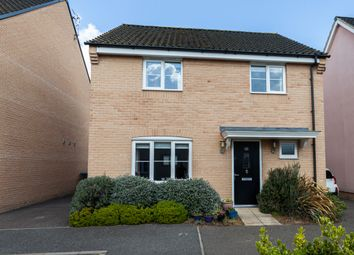 Thumbnail 4 bed detached house for sale in Swallows Close, Hollesley Woodbridge