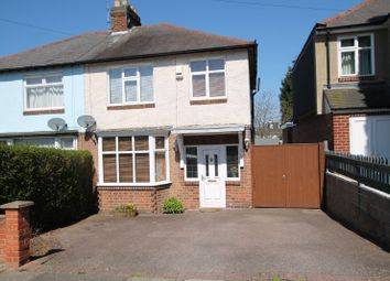 Thumbnail 3 bedroom semi-detached house for sale in Milford Road, Knighton, Leicester