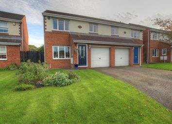 Thumbnail 4 bed semi-detached house for sale in St. Marys Drive, West Rainton, Houghton Le Spring