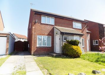 Thumbnail 2 bedroom semi-detached house for sale in The Spinney, Brackla, Bridgend.
