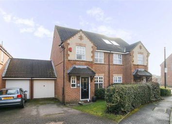 Thumbnail 3 bedroom semi-detached house for sale in Douglas Place, Oldbrook, Milton Keynes, Bucks