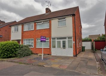 Thumbnail 3 bedroom semi-detached house for sale in Wardens Walk, Leicester Forest East