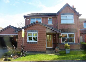 Thumbnail 4 bed detached house for sale in Park Farm Close, Longton, Preston