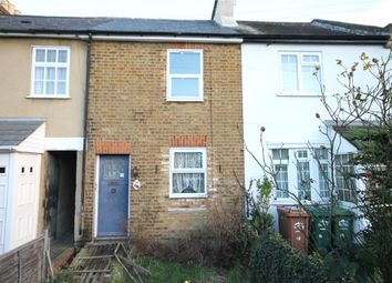 Thumbnail 2 bed terraced house for sale in Napier Road, Ashford, Surrey