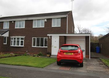 Thumbnail 3 bed semi-detached house for sale in Huntingdon Drive, Eastfield Glade, Cramlington